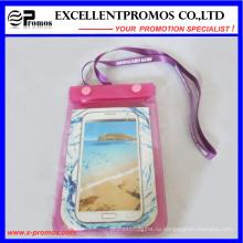 Смарт ПВХ водонепроницаемый мобильный телефон сумка с ремнем для рук (EP-H9167)