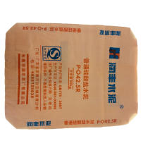 Saco de tecido plástico PP de camada única