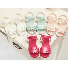 Candy cor verão sapatos para crianças verão sandálias meninas