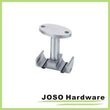 Vidrio tubo doble Fiitting hardware a pinza de techo (EA010)