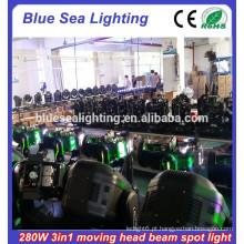 Super brilho movendo cabeça luz Robe Orsam 280W feixe 10r