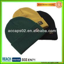 Chapeau unisexe en tricot en mode vierge BN-2648