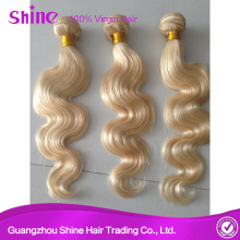 Virgin Russian Blonde Human Hair Weave Extension