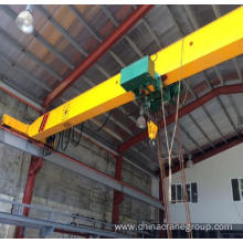 China for Ld Model Single Girder Overhead Crane Europe Type Overhead Crane 5t export to Mauritania Supplier