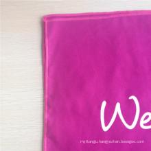 bright-colored 40*40cm custom microfiber suede towel 200gsm