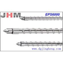Parafuso de injeção EPS6000 (aço de liga de pó)