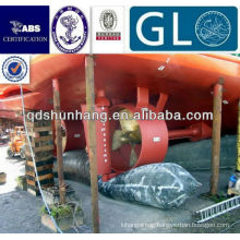 Internation certificate floating marine rubber sea airbag