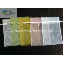 geringes Gewicht Bright Polyester Organza für Gaze Packsack
