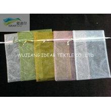 легкий вес Брайт полиэстер мешочек из органзы для марлевые упаковки