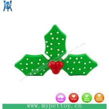 Рождественский подарок игрушка для собак из натурального каучука