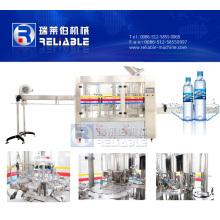Machine de remplissage d'eau minérale / machine d'embouteillage d'eau 3 en 1