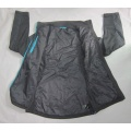 Yj-1066 Black Lined Waterproof Breathable Winter Mens Softshell Jacket