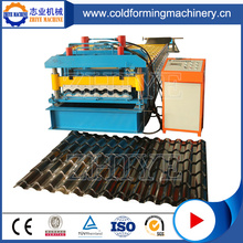 PPGI roofing glazed tile machine