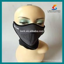 Máscaras de medio cara protegidas al aire libre deportes Máscara de neopreno