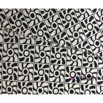 Fesyen Woven Plain Custom 100% Rayon Fabric Printed