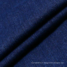 Blue Stretch Cotton Spandex Denim Fabric pour femme Jeans