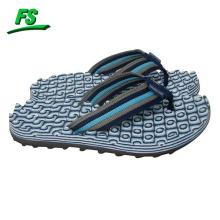 nueva zapatilla de eva de la correa de trenza de los hombres casuales