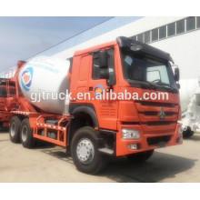 Camión del mezclador concreto de 6 * 4 12CBM HOWO / camión mezclador de HOWO / camión del hormigón de Howo RHD / camión del mezclador de RHD / camión del cemento / camión de mezcla