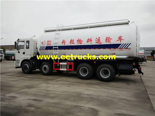 Dongfeng 310HP Dry Particle Tanker Trucks