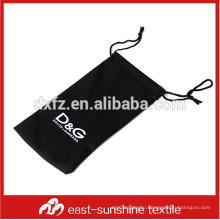 custom silk screen print microfiber sunglasses packing case