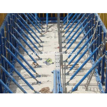 Waterproof Simple Single-side Bracket Concrete Wall Formwork For Building The Wall