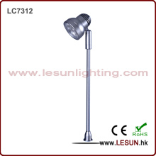 Ahorro de energía 3W Jewelry Standing Light / vitrina LC7312