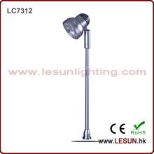 Luz da jóia da economia de energia 3W que está / caixa de exposição LC7312