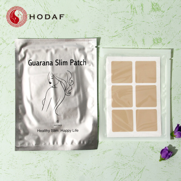 Patch mince de guarana à base de plantes 100% naturel pour la graisse