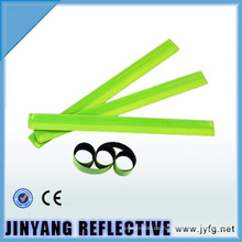 LED reflektierende Slap Wrap elastische PVC-reflektierende Armbinde
