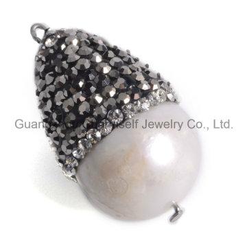 Perla Natural Perlas Pendiente para Collar Pendiente Pulsera