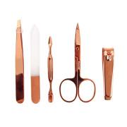 5pcs 6pcs rose gold manicure set pedicure set