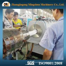 Linha de produção da tubulação de água de CPVC / que faz a máquina
