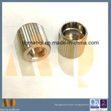 Straight Knurled Nut of Precision CNC Turning (MQ726)