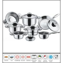 12 PCS Steel Cookware Set
