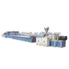 Línea de producción del perfil de WPC (máquina de extrusión de plástico)