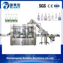 Máquina automática de engarrafamento de garrafas de vidro