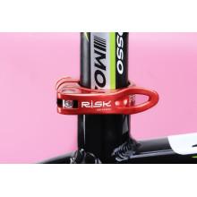 Pédales de vélo à levage rapide VTT pièces de vélo pince de siège AL6061 pinces 31.8 / 34.9 mm pièce de vélo