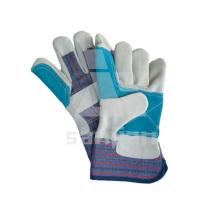 Фабрики предлагают двойной ладони безопасности перчатки кожа класс А/АВ/Вс перчатки