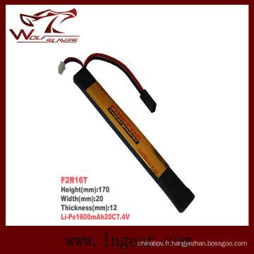 Batterie Li-polymère de bâton Firefox-1600mAh 7.4V 20C Li-Po