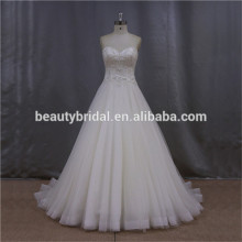 Pretty butterfly ball gown Swarovski crystal wedding gown