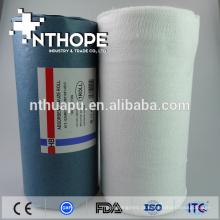 Almofada descartável médica descartável de rolos de gaze