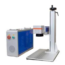 factory manufacturer of 20w 30W 50w fiber laser marking / fiber laser engraving machine for any metal