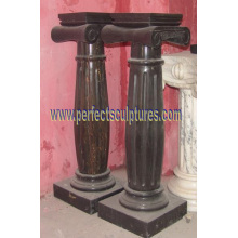 Stone Marble Granite Sandstone Column with Pillar (QCM142)