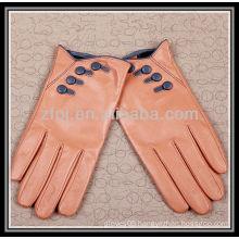 fashion designed handmade leather glove