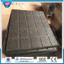 Indoor Rubber Flooring Playground Rubber Flooring Square Rubber Tile