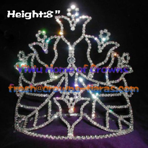 Cup of Star Crystal Rhinestone Crowns