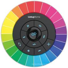 Cinturón de luz RGB inteligente con control remoto de 2.4G