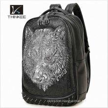 2016 new arrival elegant weave Italian leather backpack pattern women