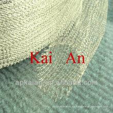 Hebei anping cobre calcetín forma alambre malla