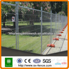 hot dip galvanized portable temporary fence